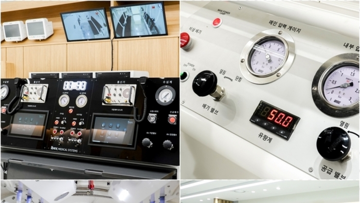 경기도, 2호 '고압산소치료센터' 한림대동탄성심병원에 열어