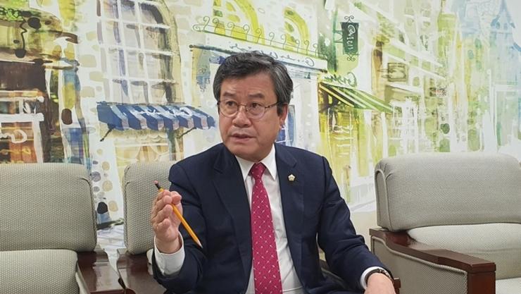 """[기획 인터뷰] 오산시의회 이상복 시의원, """"공정 95까지 온 '오산버드파크', 이제는 가야 한다"""""""